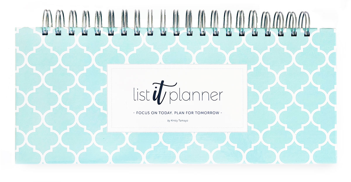 List It Planner - Teal Cover